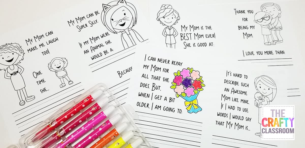 This Might Be My Favorite Mothers Day Project Because It Provides Such Cherished Responses From Children That Moms Are Sure To Love If You Using