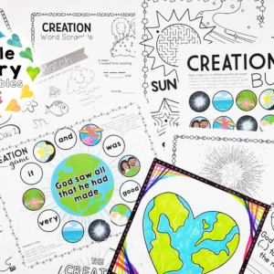 Creation Activity Pack