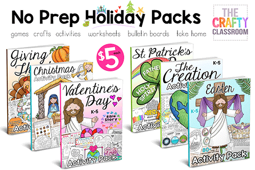 This Days Of Creation Bible Activity Pack Is Just One Many No Prep Holiday Packs Available In Our Store