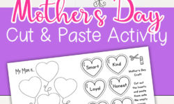 Mother's Day Art Project for Kids