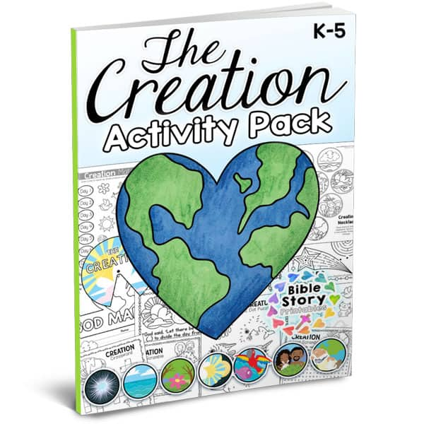 Today Weve Released A Special K 5 Activity Pack That Includes Tons Of Fun For Teaching The Days Of Creation To Your Students