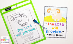 Free Abraham Preschool Bible Printables