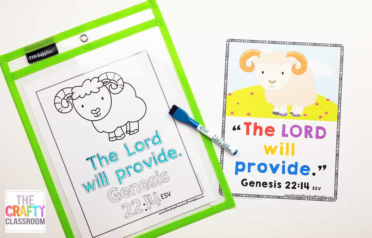 Bible Verse for Kids Archives - The Crafty Classroom