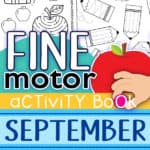 September Fine Motor Activity Pack
