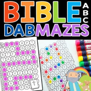 Bible ABC Mazes