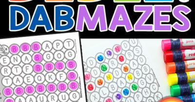 Bible ABC Mazes