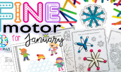 Winter Fine Motor Skills: January Pack
