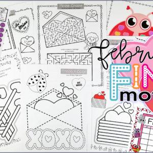 February Fine Motor Pack
