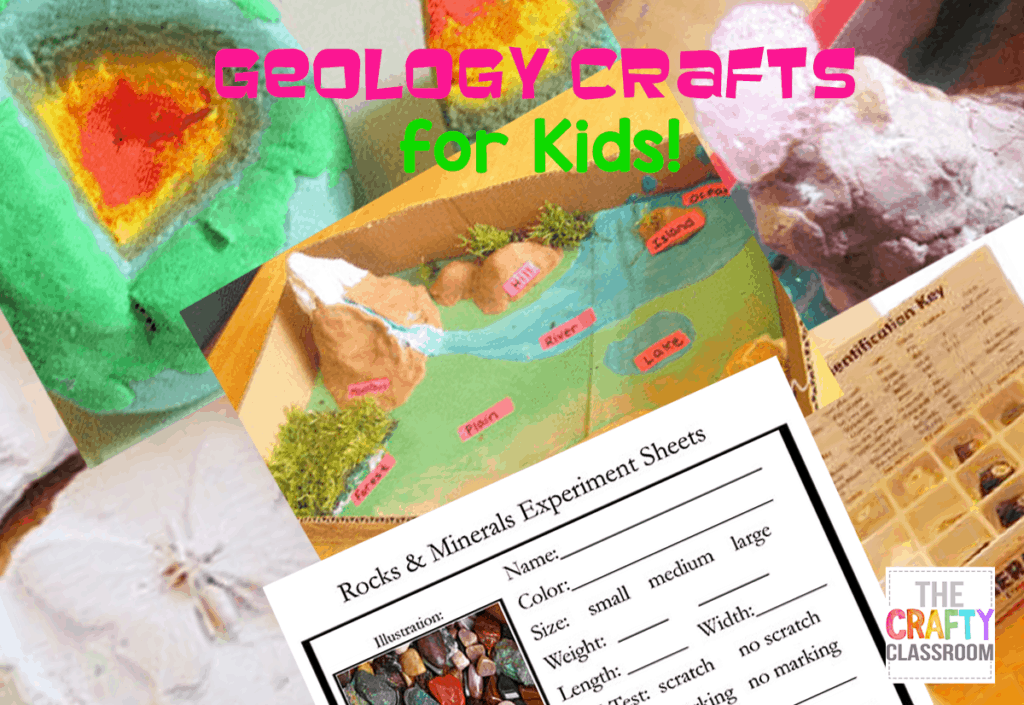 Geology Crafts For Kids The Crafty Classroom