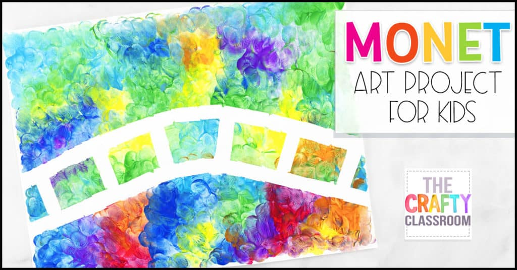 Monet Craft For Kids The Crafty Classroom