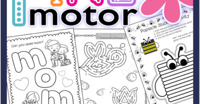 Fine Motor Activities for May