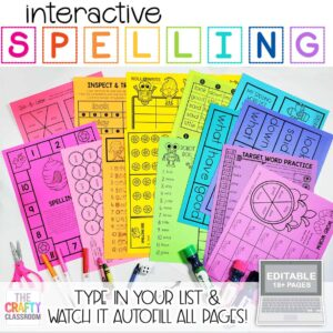Homeschool Spelling Curriculum
