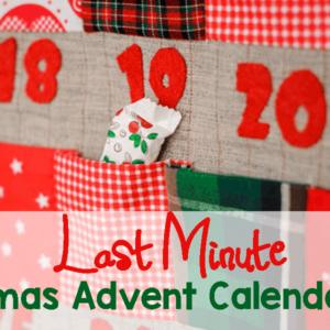 5 Last-Minute Advent Calendar Ideas