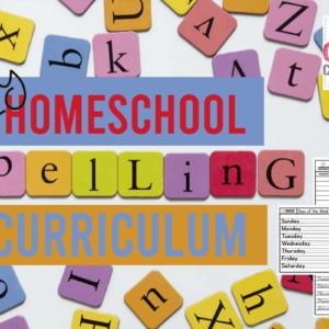 DIY Homeschool Spelling Curriculum