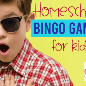 Homeschool BINGO Games for Kids