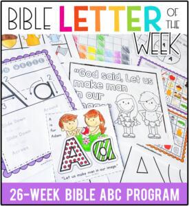 BibleLetteroftheWeek